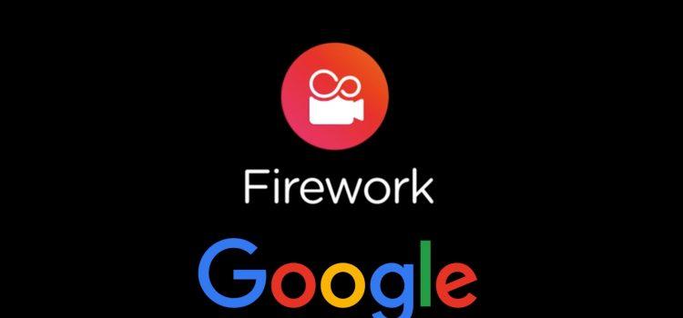 fuegos artificiales de google