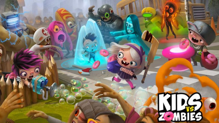 kids vs zombies zombie donuts android ios