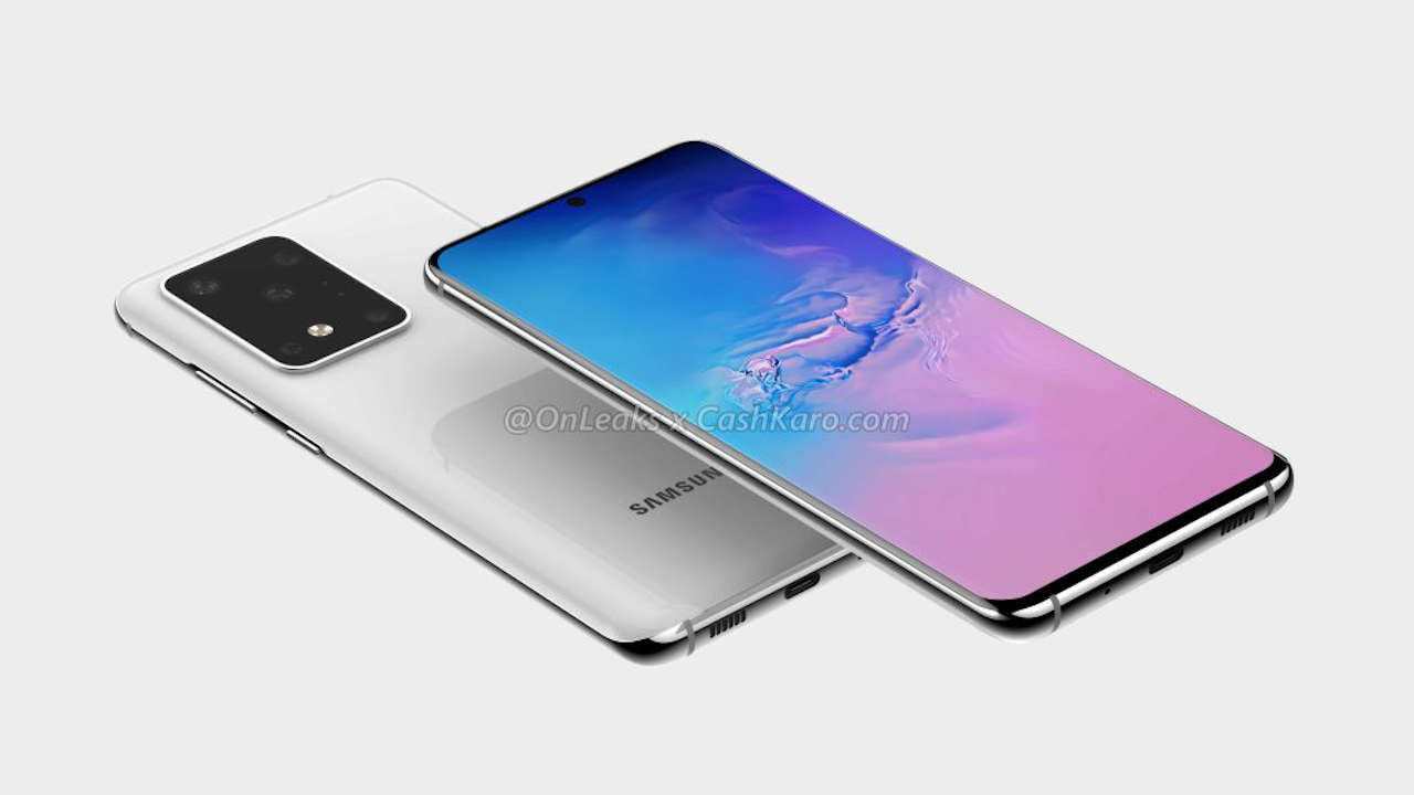 Samsung Galaxy S11 + onleaks