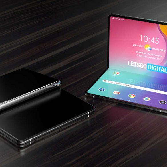 Patente plegable Samsung Galaxy Tab