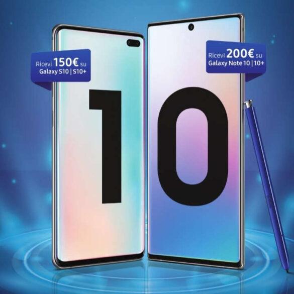 Samsung Galaxy-dagen s10 noot 10