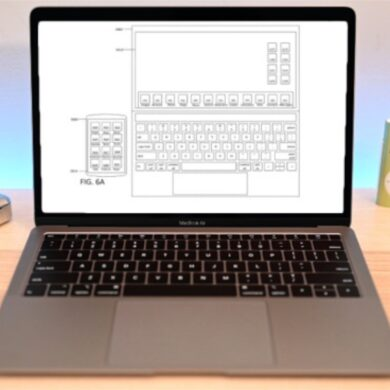 Apple MacBook touchscreen
