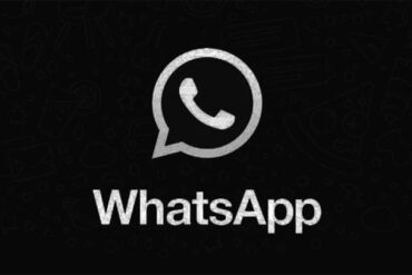 whatsapp tema scuro