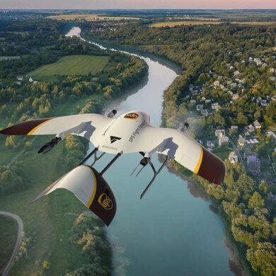 ups consegne droni