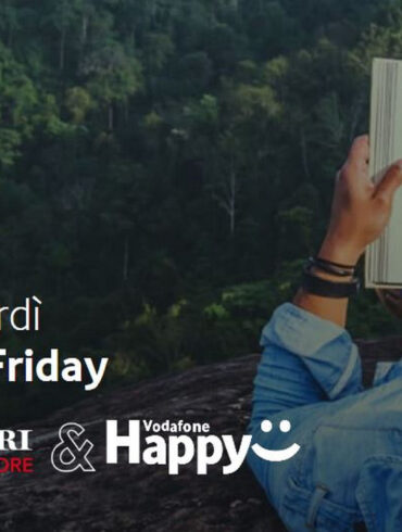 vodafone happy friday oggi 6 marzo regalo mondadori