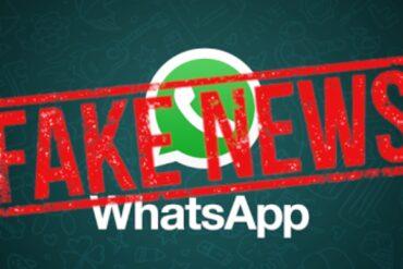 whatsapp beta fake news