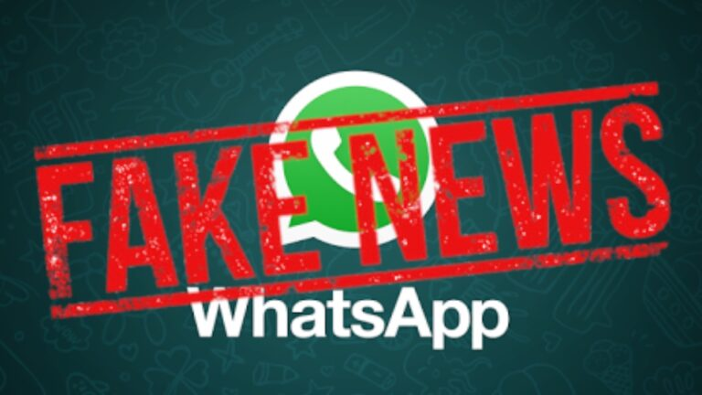 whatsapp beta fake news