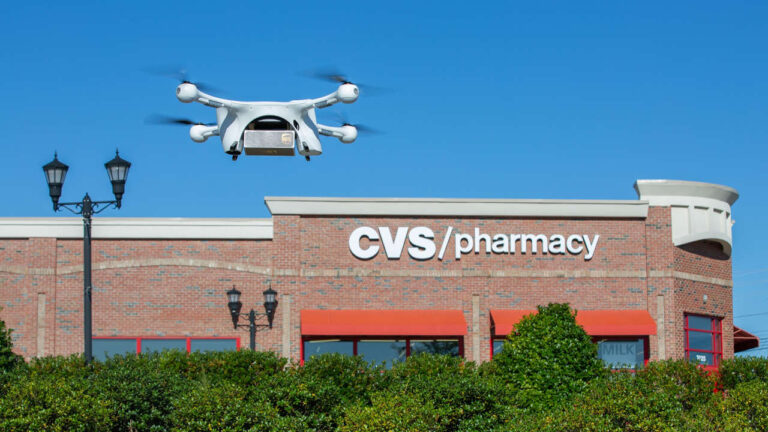 ups droni farmaci
