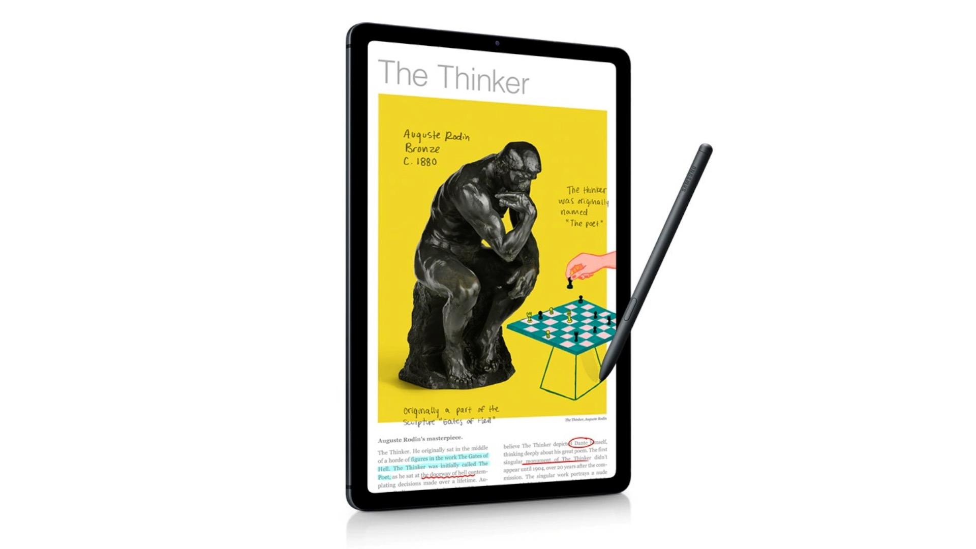 Pellicola per Samsung Galaxy Tab s6 Lite LTE Pellicola Protezione Display Opaca
