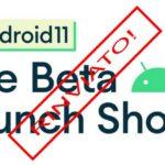 présentation de la version bêta d'Android 11