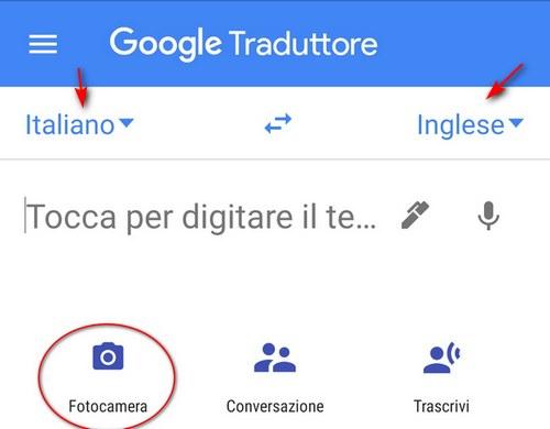 Come tradurre in Italiano in tempo reale su Android con Google Traduttore