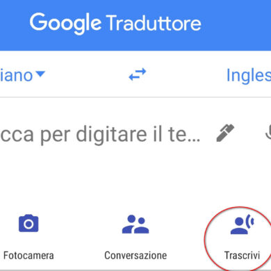 google traduttore traduzione in tempo reale