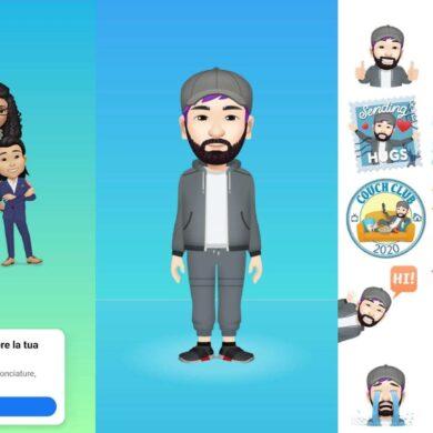come creare facebook avatar