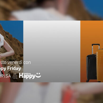 vodafone happy friday codice promo carpisa yamamay