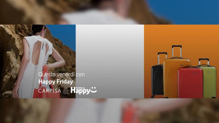 vodafone happy friday code promo carpisa yamamay