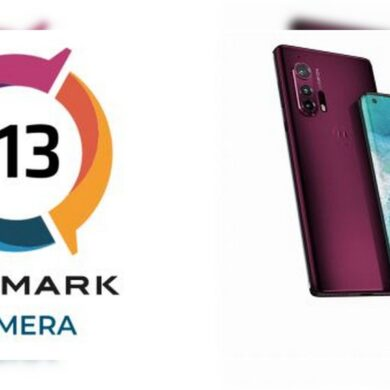 motorola edge plus scorecamera dxomark