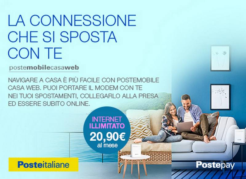 postemobile casa web postepay internet wi-fi