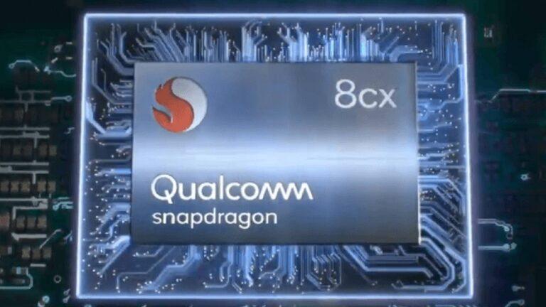 qualcomm snapdragon 8cx plus nuovo chipset rumor
