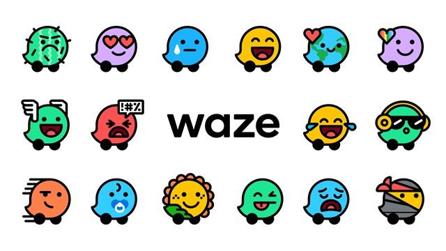 waze logo iconos humor android ios 2