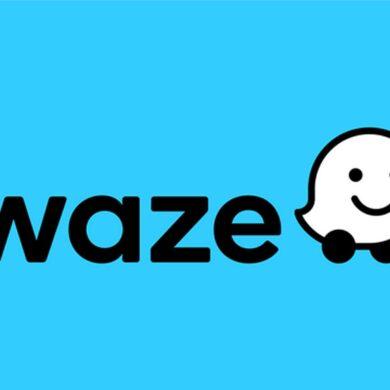 iconos de logotipo waze humor ios android
