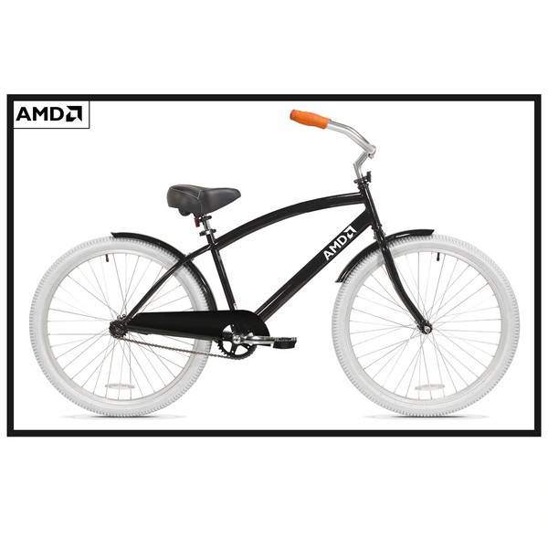 amd bici custom mountain cruiser bike 3