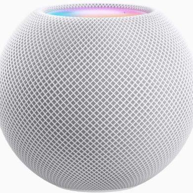 apple homepod mini spécifications prix communiqué