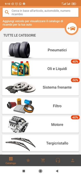 autodoc app ricambi auto android ios 2