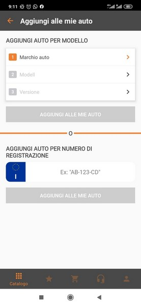 autodoc app ricambi auto android ios 4
