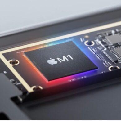 apple chip m1 risparmio produzione