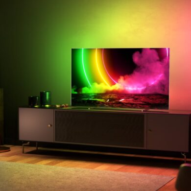 philips oled tv 806