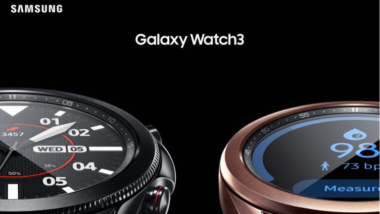 Samsung Galaxy Watch Active 2 3 bloeddruk ecg