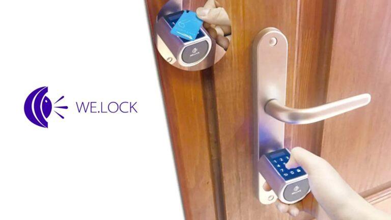 welock serratura smart card password