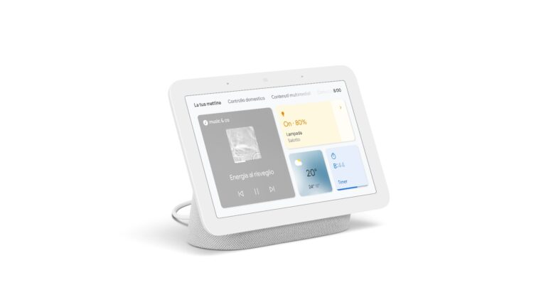google nest hub 2 ufficiale italia smart display specifiche prezzo